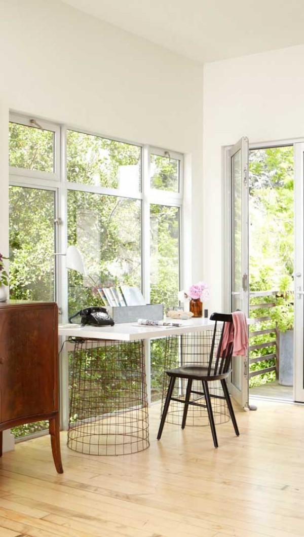 aluminiumfenster - tolle weiße Rahmen - Ideen