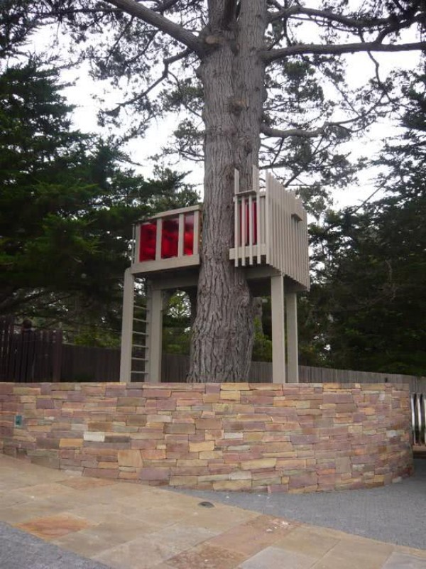 baum und holzkonstruktion - baumhaus