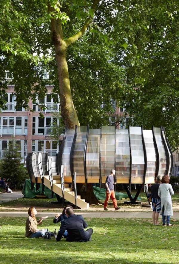 baumhaus - moderne inspiration für die stadt