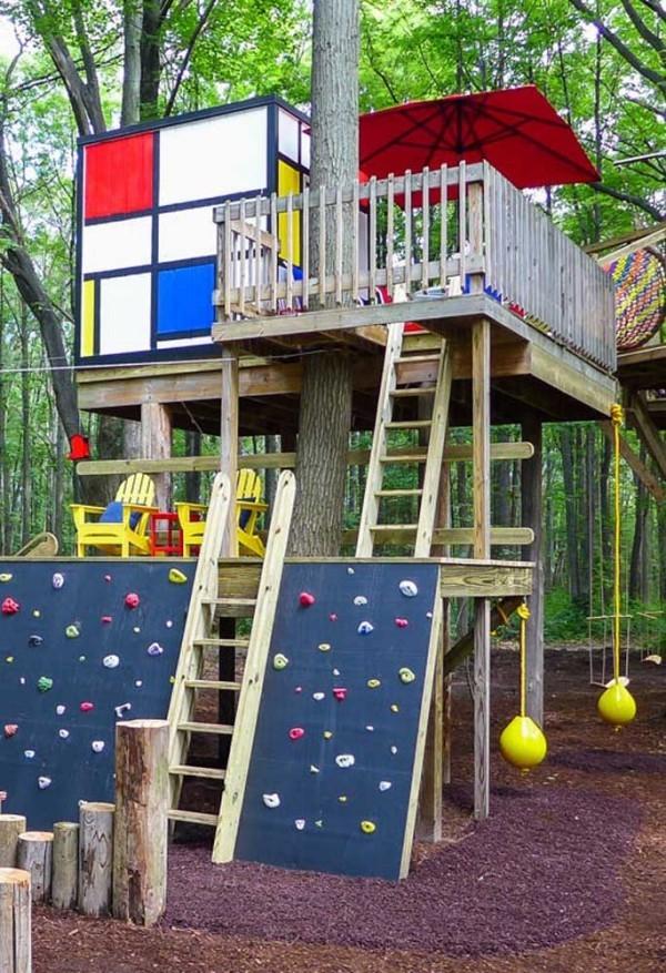 baumhaus - spielfläche für kinder