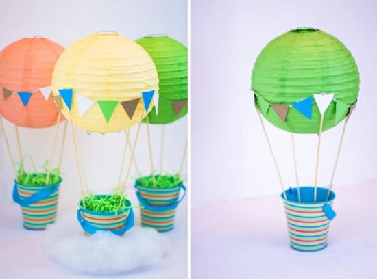 Heissluftballon Basteln 10 Ideen Zur Hochzeit