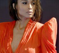 Ciara wechselt rasch ihren Look durch eine asymmetrische Bob Frisur