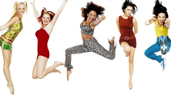 die fünf tolle damen - spice girls