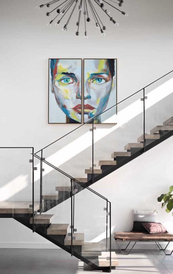 ein tolles porträt - wunderschöne Treppengestaltung