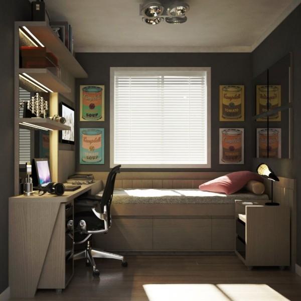 einzimmerwohnung - ein sehr kleiner raum
