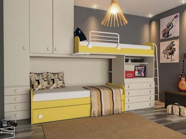 einzimmerwohnung - schrank mit einem fabelhaften design