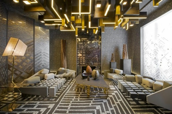 fabelhaftes deckengestaltung design wohnzimmer