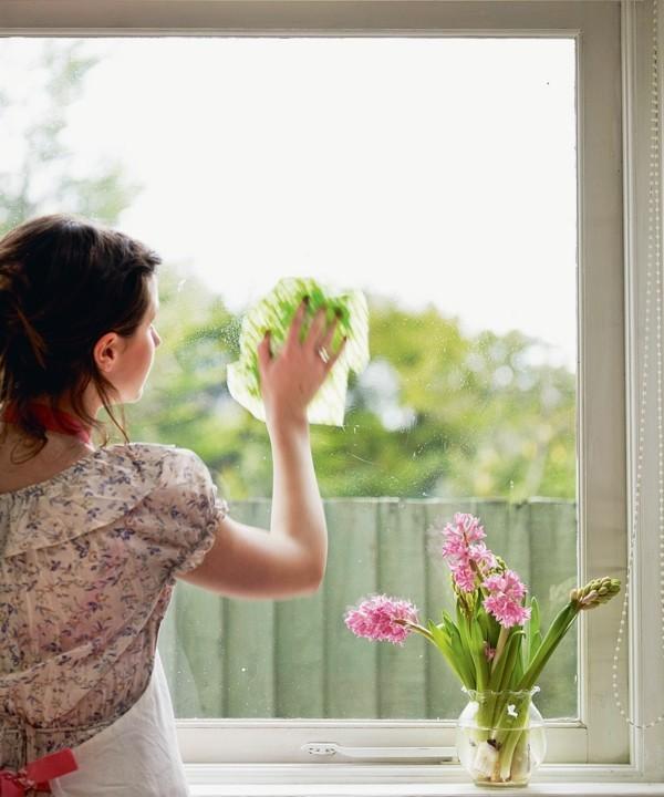 fenster putzen ohne streifen frühjahrsputz