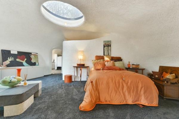 flintstone haus in kalifornien schlafzimmer