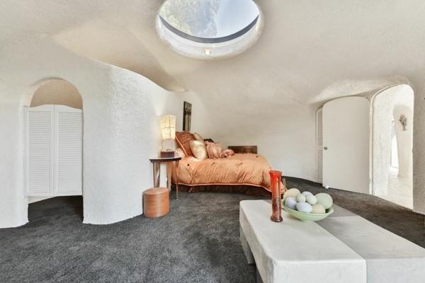 flintstone haus schlafzimmer organische architektur