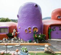 Das Flintstone-Haus in Kalifornien – bizarres Kunstwerk oder kontroverser Unfug?