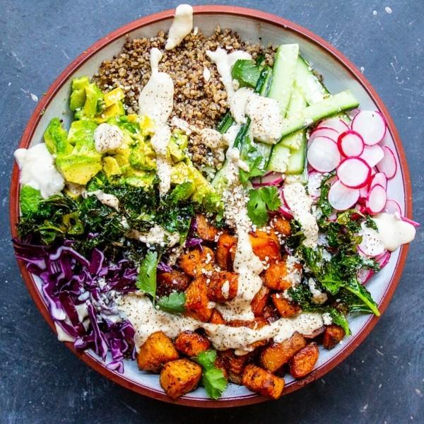 gesunde buddha bowl rezepte für veganer