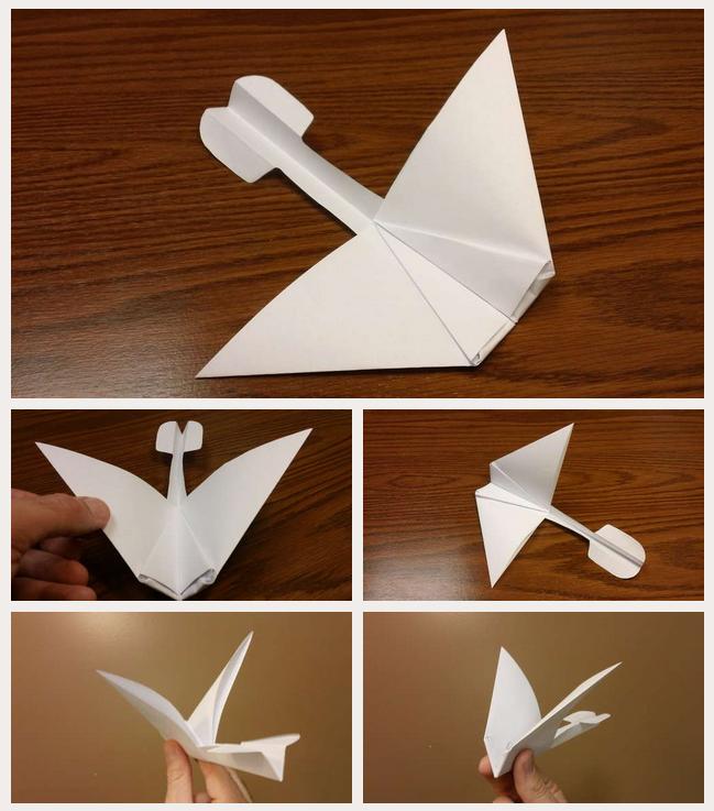 grampa papierflieger schnell