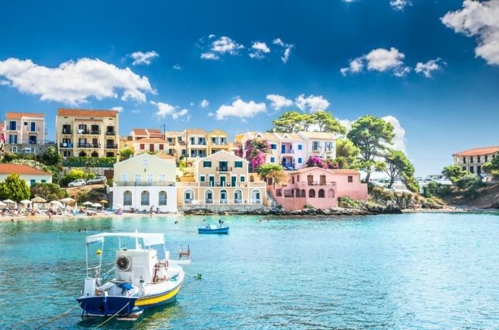 griechische Inseln Kefalonia Urlaub planen