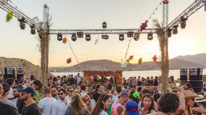 griechische Inseln Mykonos Party machen Nachtleben