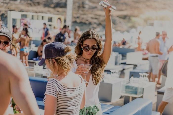 griechische Inseln Mykonos Partyinsel Nachtleben
