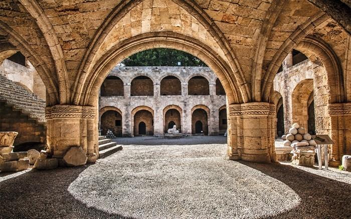 griechische Inseln Rhodos Altstadt Sehenswürdigkeiten Sommerurlaub