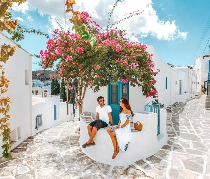 griechische Inseln Santorin Sommerurlaub beste Insel für Paare