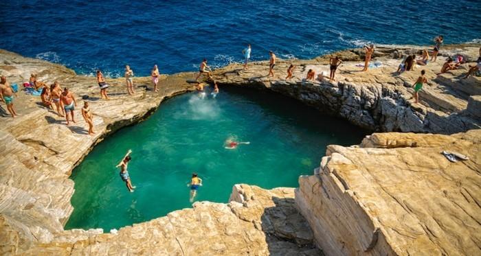 griechische Inseln Thassos Giola Sommerurlaub