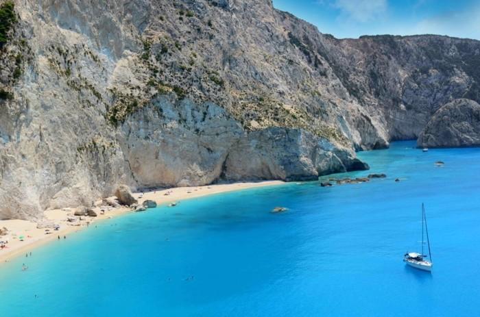 griechische Inseln Zakynthos Navagio Beach Sommerurlaub