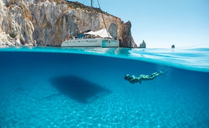 griechische Inseln Zakynthos Sommerurlaub Diving Unterwasserleben