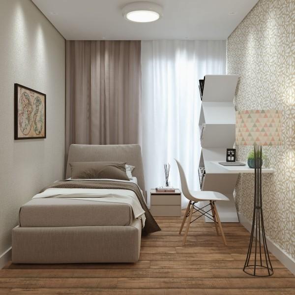 helle farben für eine einzimmerwohnung
