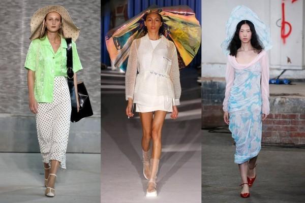 modetrends - legere lange kleider
