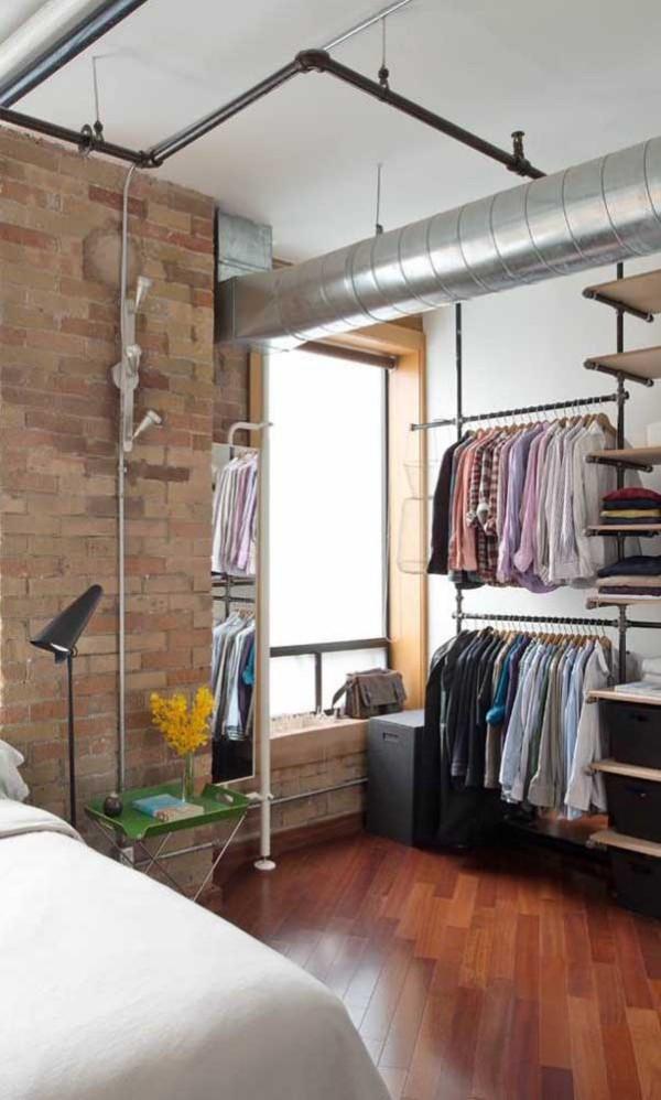 offener kleiderschrank - schöne ideen