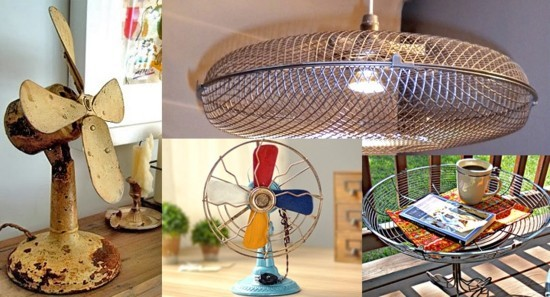 originelle diy ideen mit alten ventilatoren