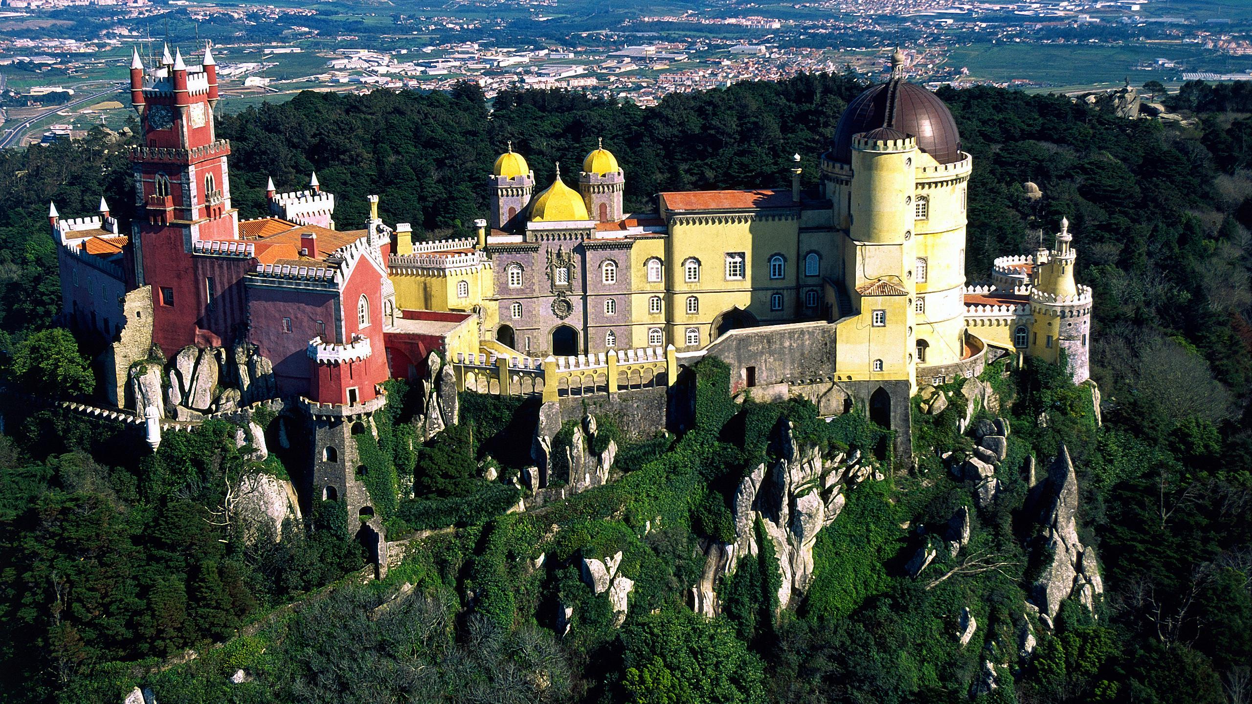 pena palace portugal - architektur