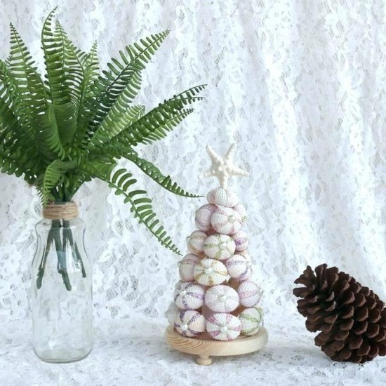 seeigel wihnachtsbaum selber machen
