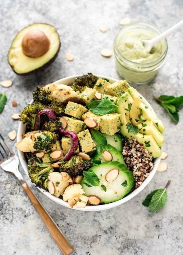 tofu vegetarische buddha bowl rezepte