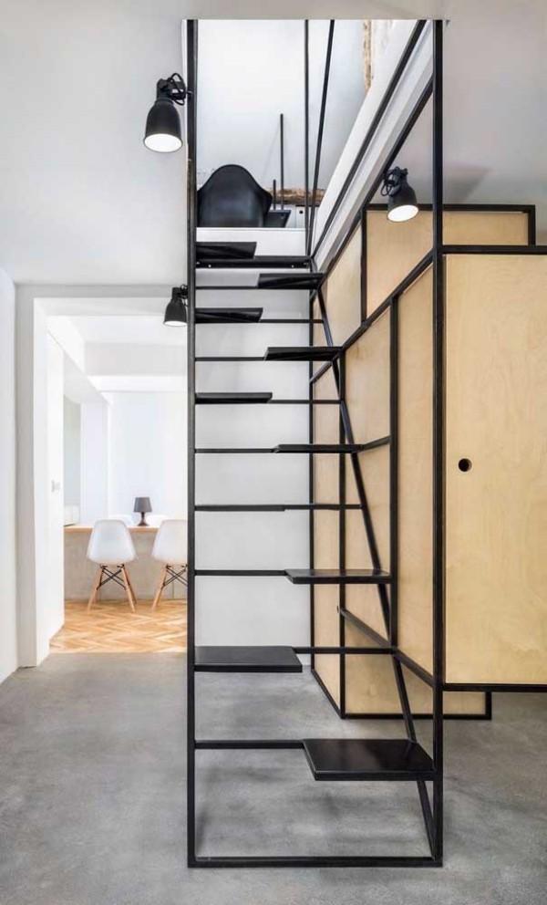 tolle Aluminiumtreppe - Treppengestaltung
