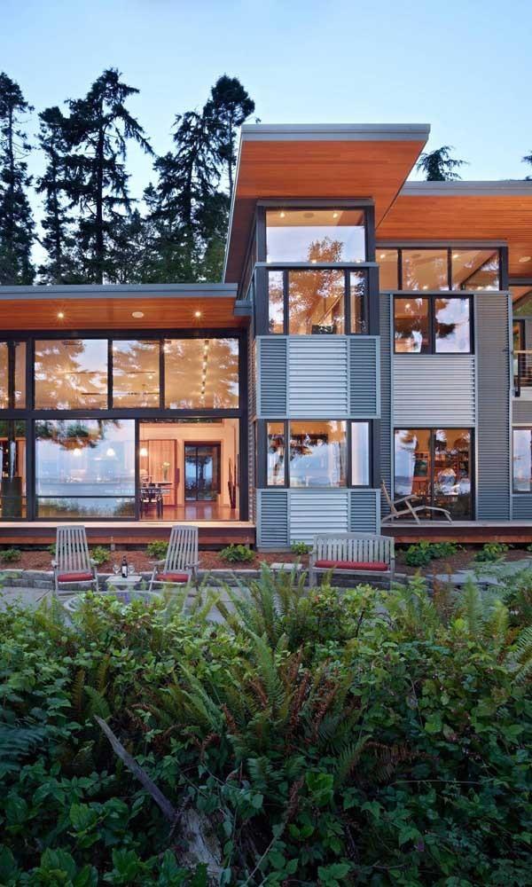 tolle schwarze Rahmen - Aluminiumfenster