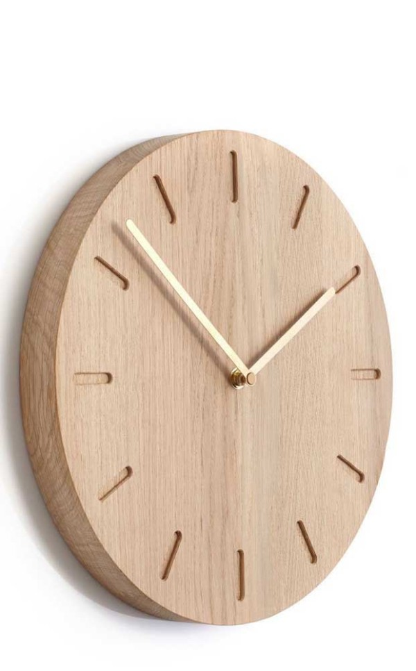 wanduhr - tolle Idee aus Holz