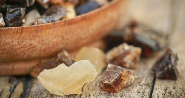 weihrauchöl weihrauchharz kristalle