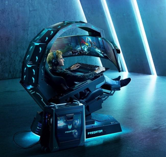 Acer enthüllt neuer Gaming Thron auf der IFA 2019 Acer Predator Thronos Air das perfekte spielzeug für gamer