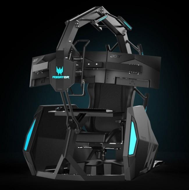 Acer enthüllt neuer Gaming Thron auf der IFA 2019 Acer Predator Thronos Air zukunft des gamings