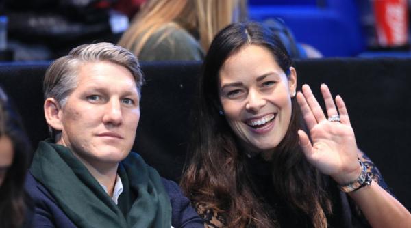 Ana Ivanovic und Bastian Schweinsteiger frischgebackene Eltern glücklich und zufrieden
