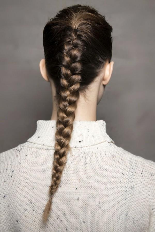Ansicht Rücken Frisuren Damen