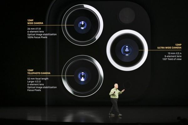 Apple's iPhone 11, 11 Pro und 11 Pro Max kommen schon diese Woche heraus die drei kameras