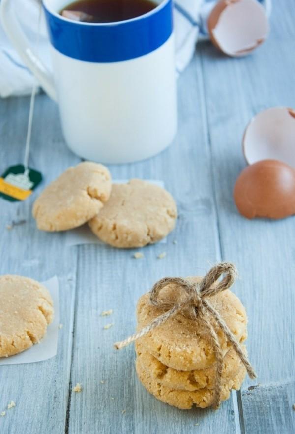 Backen mit Kokosmehl Kekse Backwahren