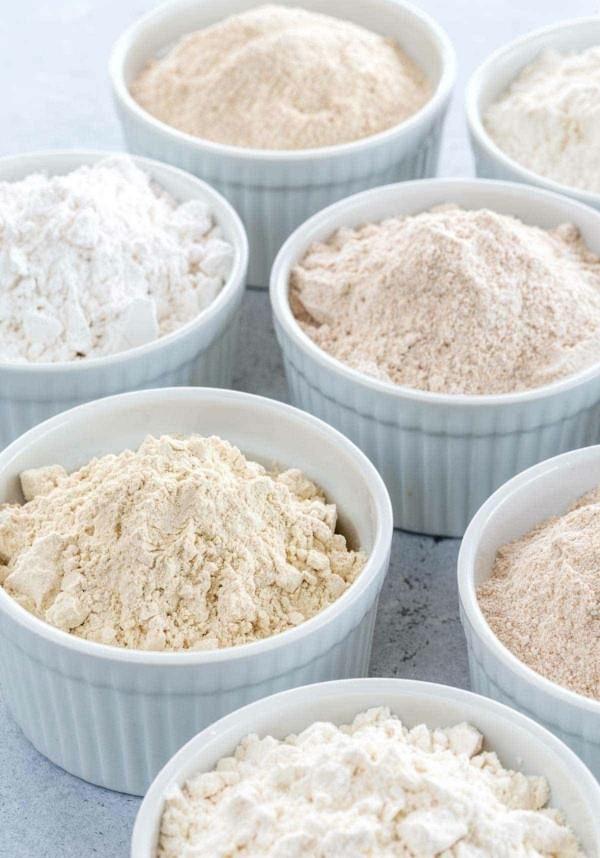 Backen mit Kokosmehl Rezepte Mehlsorten