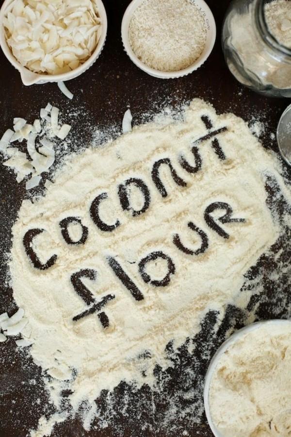 Backen mit Kokosmehl Rezepte Tipps