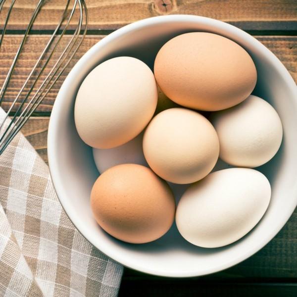 Backen mit Kokosmehl Rezepte Zutaten Eier