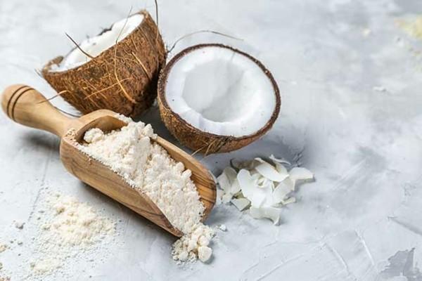 Backen mit Kokosmehl Rezepte mit Kokosnussmehl gesundheitliche Vorteile