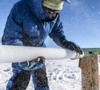 Bohrungen in der Antarktis könnten zur Bekämpfung des Klimawandels beitragen