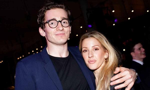 Caspar Jopling und Ellie Goulding- das schöne Paar
