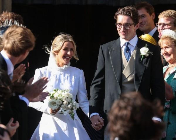 Caspar Jopling und Ellie Goulding - zusammen auf der Zeremonie