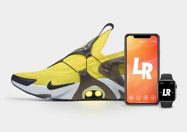 Die Schnürsenkel der Nike Adapt Huarache werden durch Siri angepasst die neuen sneakers